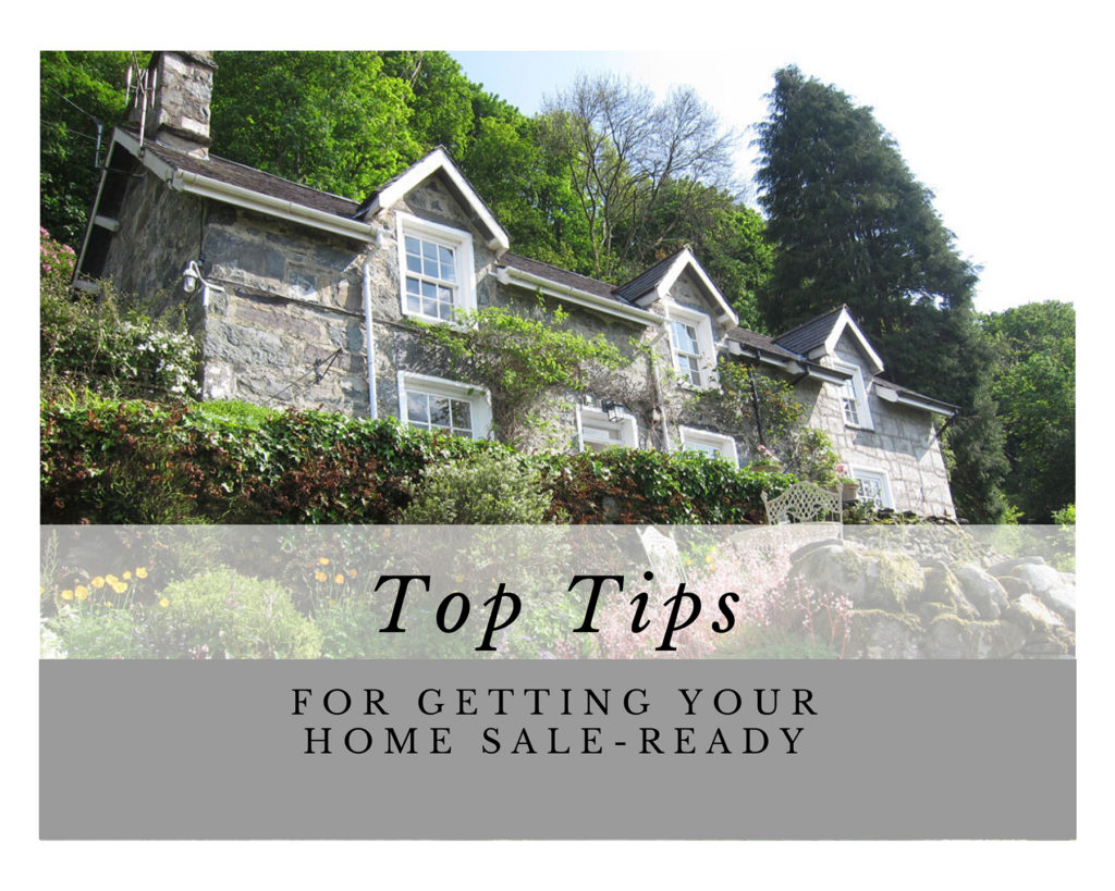 top tips for getting your home sale-ready
