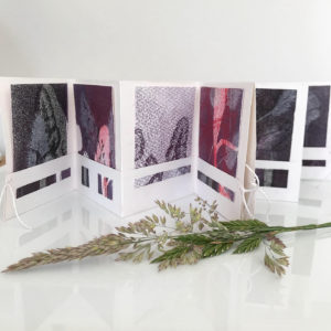 Meadow grasses folded book