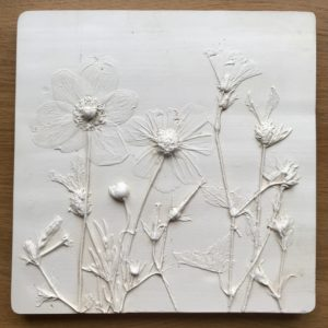 Botanical Plaster Cast