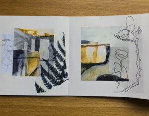 Abstract Landscape Book 2 Page